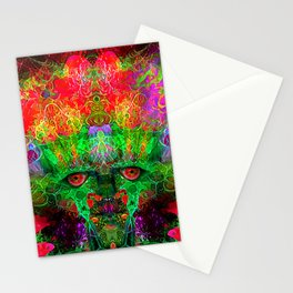 The Flower King Stationery Cards