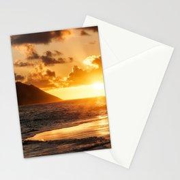 Sunrise Ocean view at Lanikai Beach Hawaii Stationery Cards