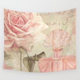 Perfume and Roses I Wall Tapestry