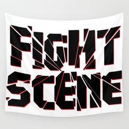 Fight Scene #1 Wall Tapestry