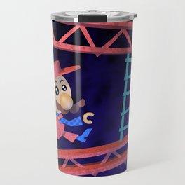 Run Mario run Travel Mug