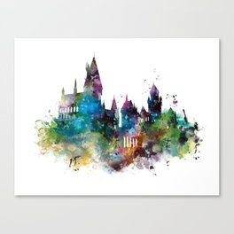 Hogwarts 2 Canvas Print