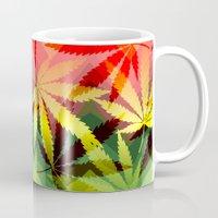marijuana Mugs featuring Marijuana by SpecialTees
