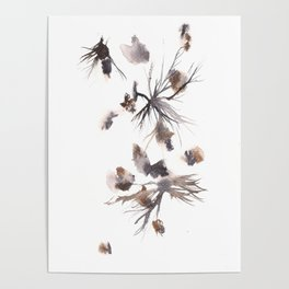 The Magician - 151124  Abstract Watercolour Poster