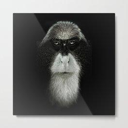 Debrazza's Monkey Square Metal Print