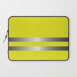 Yellow Vest Costume Laptop Sleeve