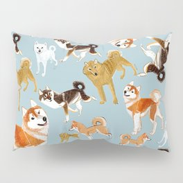 Japanese Dog Breeds Pillow Sham