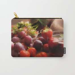 Fresh strawbeerie and Grapes to fall in love with Carry-All Pouch