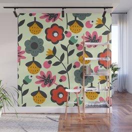 Floral sweetness Wall Mural
