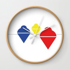 Whirlgigs Wall Clock