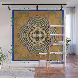 Healing Deep Earth Moroccan Modern Mandala Wall Mural