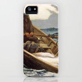 The Fog Warning, Halibut Fishing - Digital Remastered Edition iPhone Case