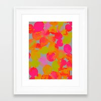 community Framed Art Prints featuring COMMUNITY by Rebecca Allen