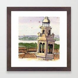 LSU Memorial Tower Framed Art Print