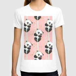 Panda Pattern 07 T-shirt