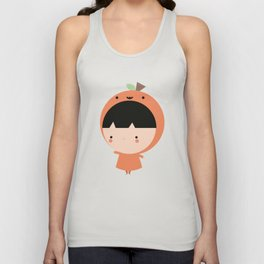 Cute Pumpkin Unisex Tank Top