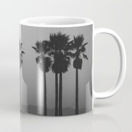 palms against the mountain Coffee Mug