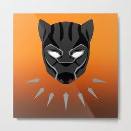 Black Panther 2.0 Metal Print