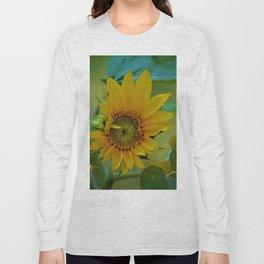 Sunflower Solar System Long Sleeve T-shirt