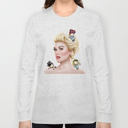 Harajuku girl Long Sleeve T-shirt