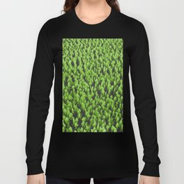 Like Blades of Grass / Large crowd of people illustration Long Sleeve T-shirt