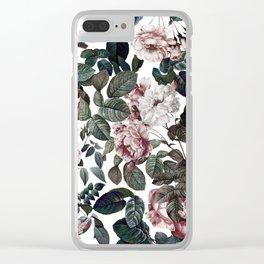 Vintage garden Clear iPhone Case
