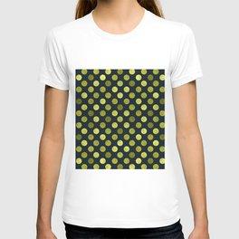 Watercolor Dots Pattern V T-shirt