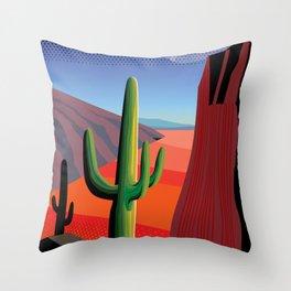 Gringo Pass Throw Pillow