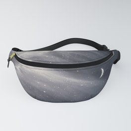 Moon and Clouds Fanny Pack
