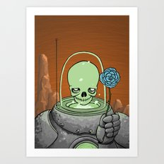 Atomic Lover Art Print