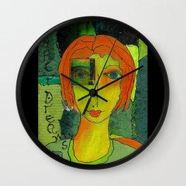 Paper Dreams Wall Clock