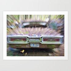 Thunderbird Lanes Art Print
