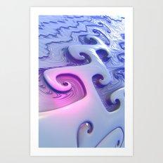 E8 Fractal Art Print