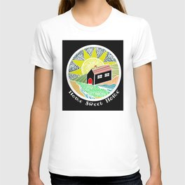 House of Lines Home Sweet Home Lime T-shirt