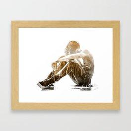 Desertion Framed Art Print