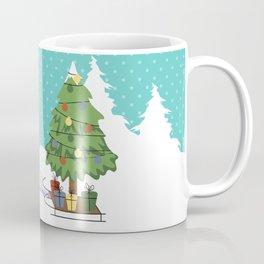 Santa Claus and gifts Coffee Mug