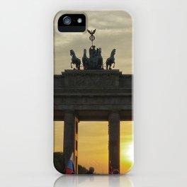 Brandenburg Gate, Berlin iPhone Case