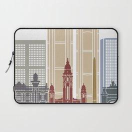 Caracas V2 skyline poster Laptop Sleeve
