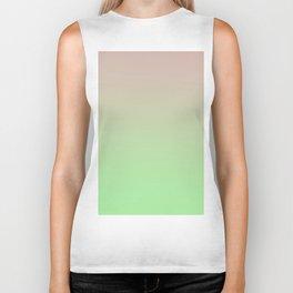 STATIC LIFE - Minimal Plain Soft Mood Color Blend Prints Biker Tank