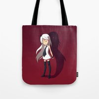 shadow Tote Bags featuring Shadow by Freeminds