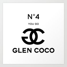 Glen Coco No. 4 Art Print