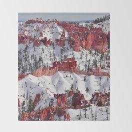 Bryce Canyon - Sunset Point III Throw Blanket