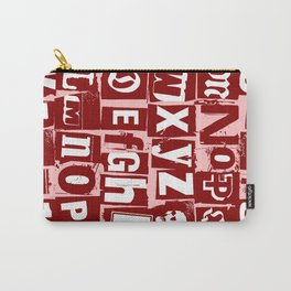 Ransom Letters Carry-All Pouch