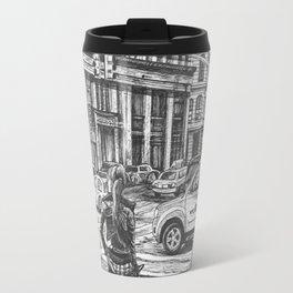 New York Taxis Travel Mug