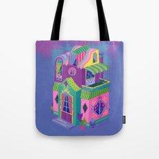 Balcony House Tote Bag