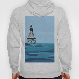 Fowey Rocks Lighthouse Hoody