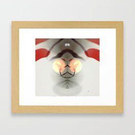 Dali in the Abstract Framed Art Print