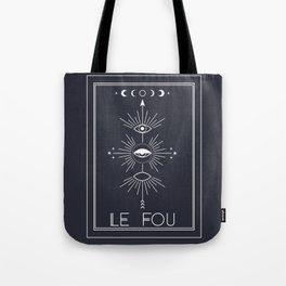 Le Fou or The Fool Tarot Tote Bag