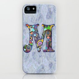 The Letter M iPhone Case