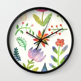 Summer Dew Wall Clock